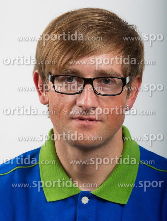 Roman Pongrac of Slovenian Paralympic team for London 2012 on June 20, 2012 in Ljubljana, Slovenia. (Photo by Vid Ponikvar / Sportida.com)