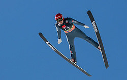 Constantin Schmid (GER) soaring through the air during the Ski Flying Hill Individual Competition at Day 2 of FIS Ski Jumping World Cup Final 2019, on March 22, 2019 in Planica, Slovenia. Photo by Masa Kraljic / Sportida