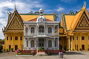 The Royal Palace in Phnom Penh.