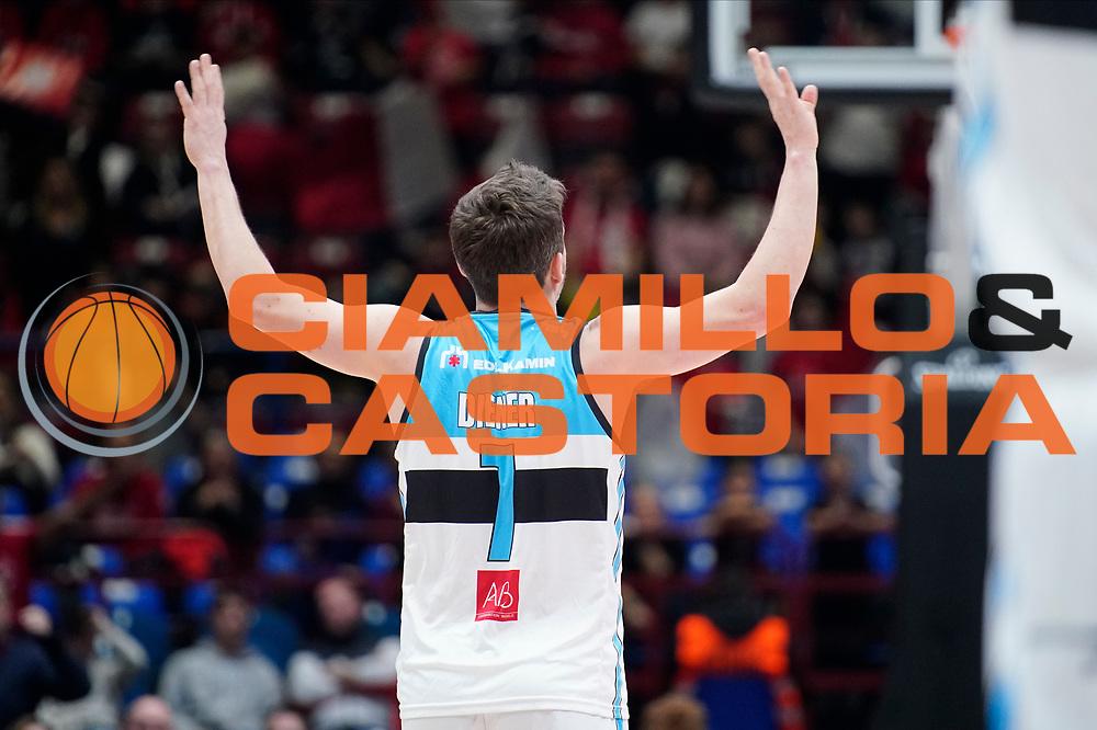DienerTravis <br /> A|X Armani Exchange Olimpia Milano - Vanoli Cremona <br /> Basket Serie A LBA 2019/2020<br /> Milano 09 February 2020<br /> Foto Mattia Ozbot / Ciamillo-Castoria