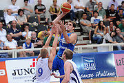TRENTO, 25/07/2012<br /> TRENTINO BASKET CUP 2012<br /> ITALIA - FINLANDIA<br /> NELLA FOTO: DAVID CHIOTTI<br /> FOTO CIAMILLO