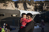 Migrants arrive in Lesbos
