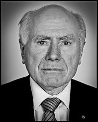 Portrait of the Former Australian Prime Minister John Howard, London, Thursday November 10, 2011. Photo By Andrew Parsons/i-Images