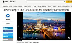 MSN website; Skyline of Cologne