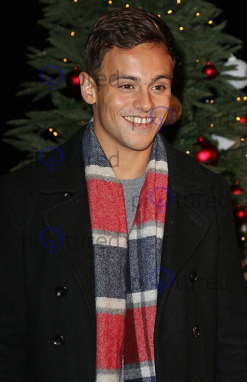 Tom Daley, Winter Wonderland - VIP Launch, Hyde Park, London UK, 19 November 2015, Photo by Brett D. Cove