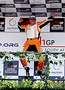 JOHANNESBURG, SOUTH AFRICA -  22 February 2009, Sprint Race Winner from Team Netherlands Jeroen Bleekemolen during the Sprint Race of the A1GP held at Kyalami Motor Racing Circuit in Johannesburg, Gauteng, South Africa...Photo by Barry Aldworth/SPORTZPICS