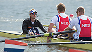 Amsterdam. NETHERLANDS. NED M8+ cox. Peter WIERSUM. De Bosbaan Rowing Course, venue for the 2014 FISA  World Rowing. Championships. 10:55:27  Sunday  31/08/2014.  [Mandatory Credit; Peter Spurrier/Intersport-images]