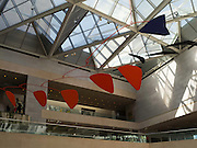 The Calder Mobile hanging in the main foyer of the National Gallery of Art, Washington, DC.