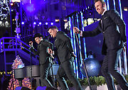 The Tenors perform at the 2017 Rockefeller Center Christmas Tree Lighting Ceremony, Wednesday, Nov. 29, 2017, in New York. (Diane Bondareff/AP Images for Tishman Speyer)