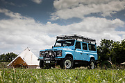 Arkonik Land Rover shoot - Pitch Perfect Camp site