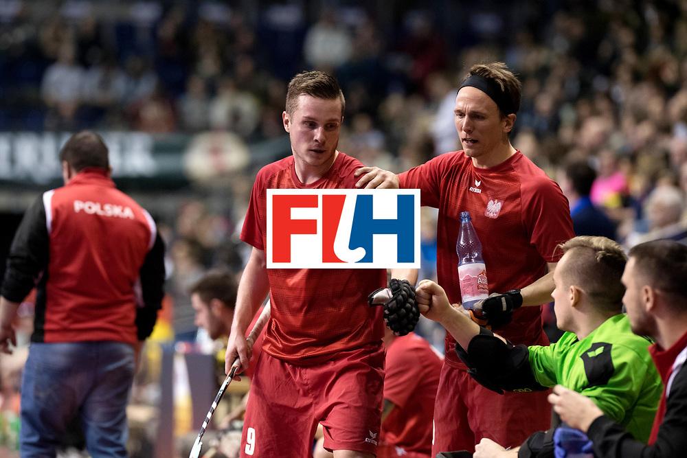 BERLIN - Indoor Hockey World Cup<br /> Quarterfinal 2: Austria - Poland<br /> foto: POLTASZEWSKI Mateusz.<br /> WORLDSPORTPICS COPYRIGHT FRANK UIJLENBROEK
