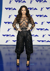 Demi Lovato at the 2017 MTV Video Music Awards held at the Forum in Inglewood, USA on August 27, 2017.