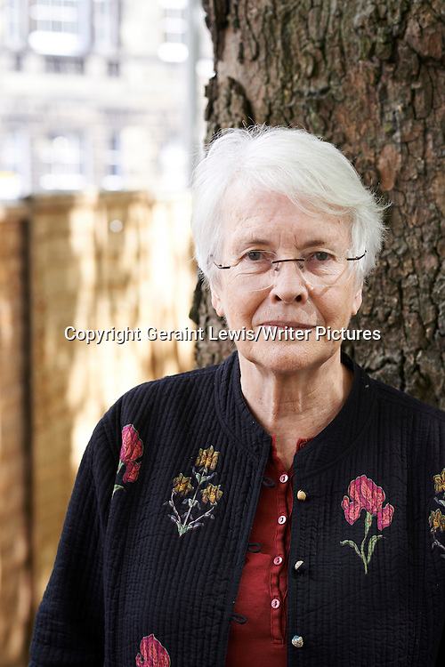 Elizabeth Laird at The Edinburgh International Book Festival<br /> 22nd August 2014<br /> <br /> Photograph by Geraint Lewis/Writer Pictures<br /> <br /> WORLD RIGHTS