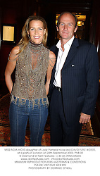 MISS INDIA HICKS daughter of Lady Pamela Hicks and DAVID FLINT WOOD, at a party in London on 24th September 2003.PNB 32