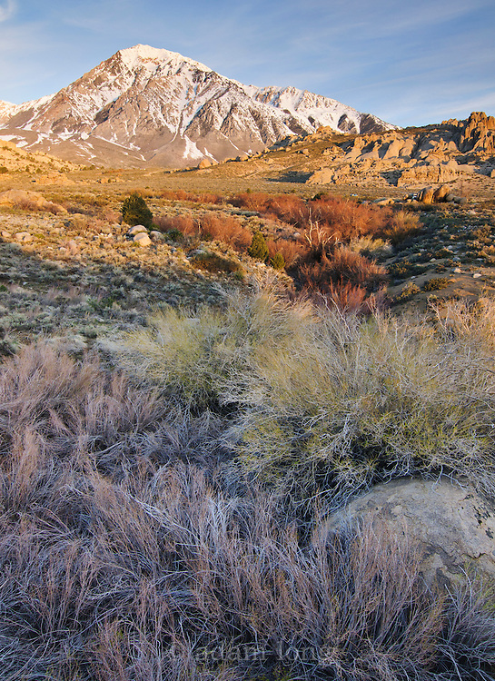 A view across Buttermilk Country, near Bishop in California's eastern Sierra