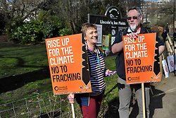 Time to Act: Climate Change protest march, London 7 March 2015