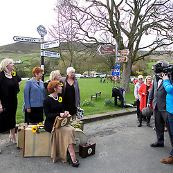 The Calendar Girls Musical  Press Launch 2018 at Burnsall, North Yorkshire