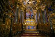 Chapel St. John the Baptist in the  Igreja de São Roque (Church of Saint Roch) in Lisbon, Portugal.