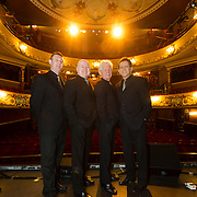 The Searchers at Theatre Royal Wakefield. From left to right , Scott Ottaway, Spencer James,  John McNally and Frank Allen.