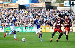 Ollie Clarke of Bristol Rovers on the ball - Mandatory by-line: Neil Brookman/JMP - 14/04/2018 - FOOTBALL - Memorial Stadium - Bristol, England - Bristol Rovers v Blackburn Rovers - Sky Bet League One