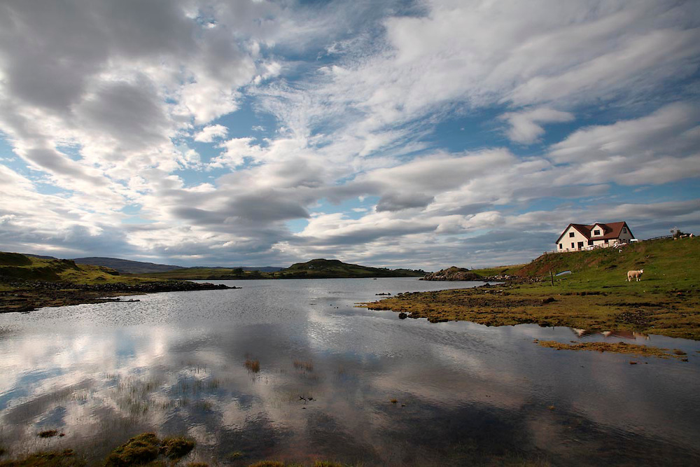 Edinbane. isla de Skye. Scotland.
