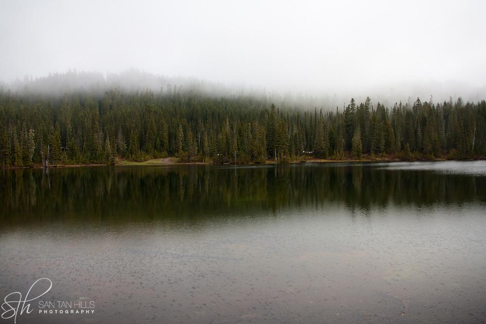 Reflection Lakes - Mt. Rainier National Park, WA