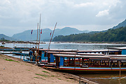 Image for the village of Pak Ou, on the Mekong River, across from the famous Pak Ou Caves, Laos.