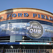 Ford Field is the host venue for the NCAA Final Four in 2009.