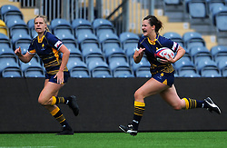 Lisa Campbell of Worcester Valkyries in action - Mandatory by-line: Nizaam Jones/JMP - 22/09/2018 - RUGBY - Sixways Stadium - Worcester, England - Worcester Valkyries v Richmond Women - Tyrrells Premier 15s