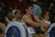 2005 British Indoor Rowing Championships, Competitors, Men's Lightweights, Zac PURCHASE, rowing Machines, National Indoor Arena, Birmingham, ENGLAND,    20.11.2005  [Mandatory Credit Peter Spurrier/ Intersport Images]