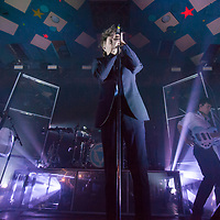 Glasgow, Scotland, UK. 23rd January, 2019. Enter Shikari, in concert at The Barrowlands Ballroom. Credit: Stuart Westwood/Alamy Live News