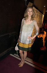 Actress ROSAMUND PIKE at the 9th Annual British Independent Film Awards at the Hammersmith Palais, London on 29th November 2006.<br />