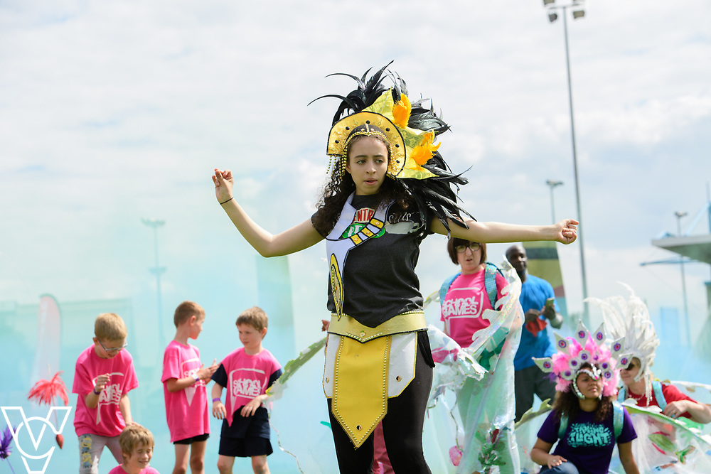 Lincolnshire School Games 2017, organised by Active Lincolnshire, held at Grantham Meres Leisure Centre.<br /> <br /> Picture: Chris Vaughan Photography for Active Lincolnshire<br /> Date: July 9, 2017