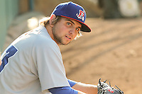 Chris Lamb Stockton Ports - August 2014 - Lake Elsinore/Rancho Cucamonga Series