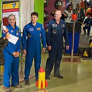 Op donderdag 20 september 2012 kwam André Kuipers en mede-astronauten Don Pettit (VS) en Oleg Kononenko (Rusland) naar NEMO in Amsterdam om te vertellen over hun ruimtereis. Leerlingen van het Penta Collega uit Spijkenisse konden vragen stellen aan André.