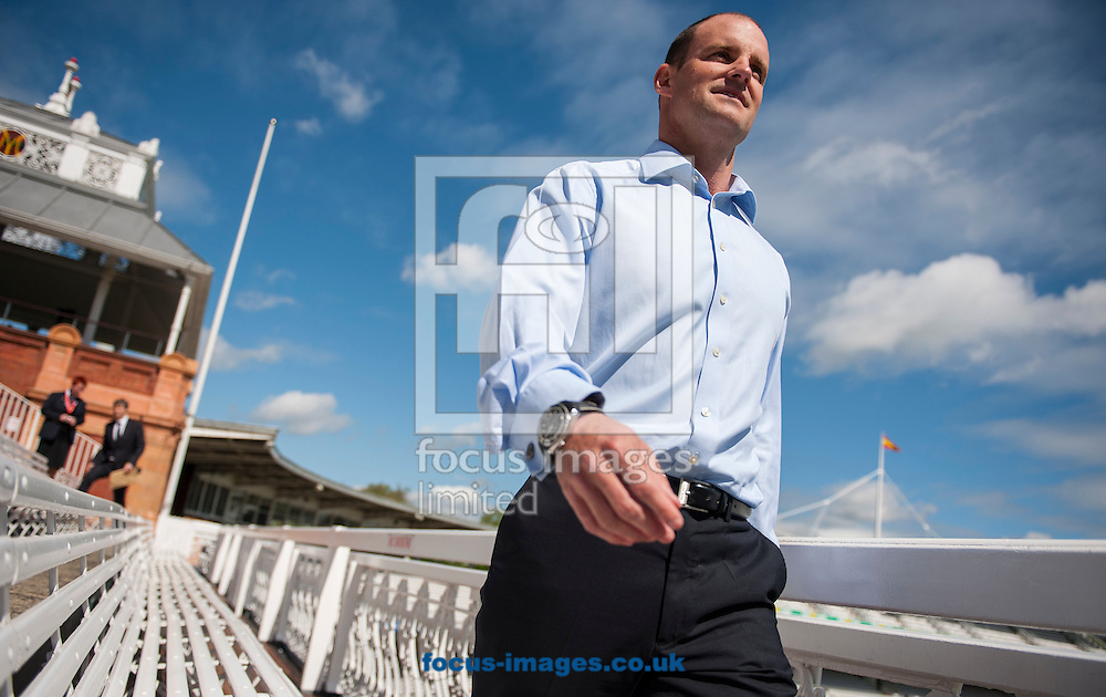 Andrew Strauss, the new Director of England Cricket during the ECB Press Conference to introduce him at Lord's, London<br /> Picture by Jack Megaw/Focus Images Ltd +44 7481 764811<br /> 12/05/2015