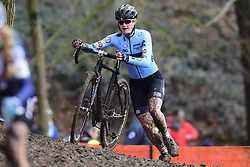 February 3, 2018 - Valkenburg, Pays bas - Truyen Marthe (BEL) in action during the 2018 UCI Cyclo-Cross World Championships for Women under 23 on February 03, 2018 (Credit Image: © Panoramic via ZUMA Press)