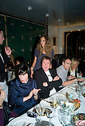ALICE RAWTHORN, SIMON LE BON AND ELLE MACPHERSON, Exhibition of work by Marc Newson at the Gagosian Gallery, Davies st. London. afterwards at Mr. Chow, Knightsbridge. 5 March 2008.  *** Local Caption *** -DO NOT ARCHIVE-© Copyright Photograph by Dafydd Jones. 248 Clapham Rd. London SW9 0PZ. Tel 0207 820 0771. www.dafjones.com.