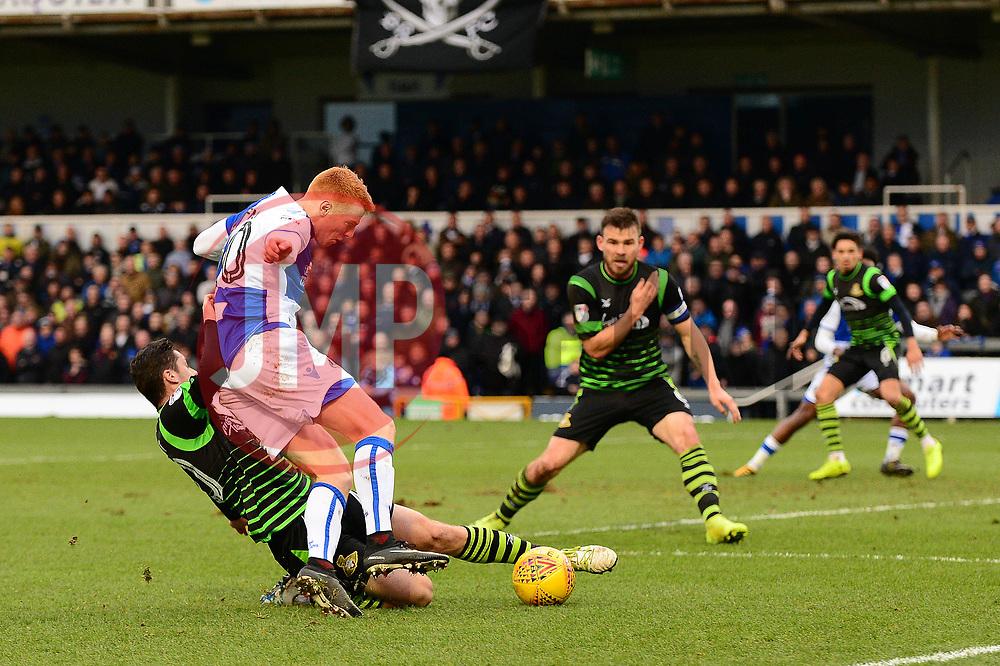 Rory Gaffney of Bristol Rovers - Mandatory by-line: Dougie Allward/JMP - 23/12/2017 - FOOTBALL - Memorial Stadium - Bristol, England - Bristol Rovers v Doncaster Rovers - Skt Bet League One
