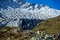 16-09-2017 FRA: BvdGF Tour du Mont Blanc day 7, Beaufort<br /> De laatste etappe waar we starten eindigen we ook weer na een prachtige route langs de Mt. Blanc / Carlos, Xander, Tjebbe