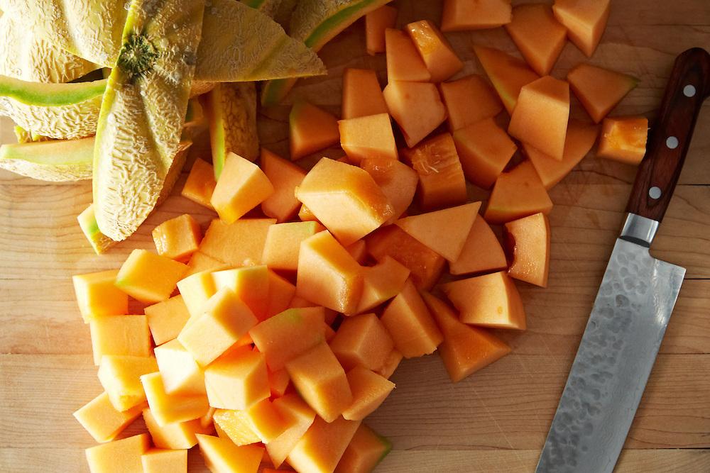 Roasted Cantaloupe