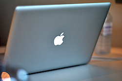 UK ENGLAND LONDON 10NOV11 - Apple laptop computer, a MacBook Pro.....jre/Photo by Jiri Rezac....© Jiri Rezac 2011