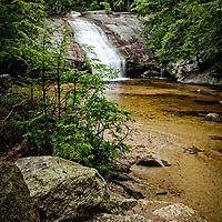 Beede Falls, Sandwich, NH post card. <br />
