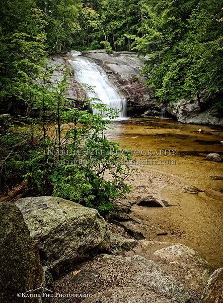 Beede Falls, Sandwich, NH post card. <br /> <br /> Post card is 4.25 x 6.<br /> Designed and printed in NH on FSC Recycled Paper.