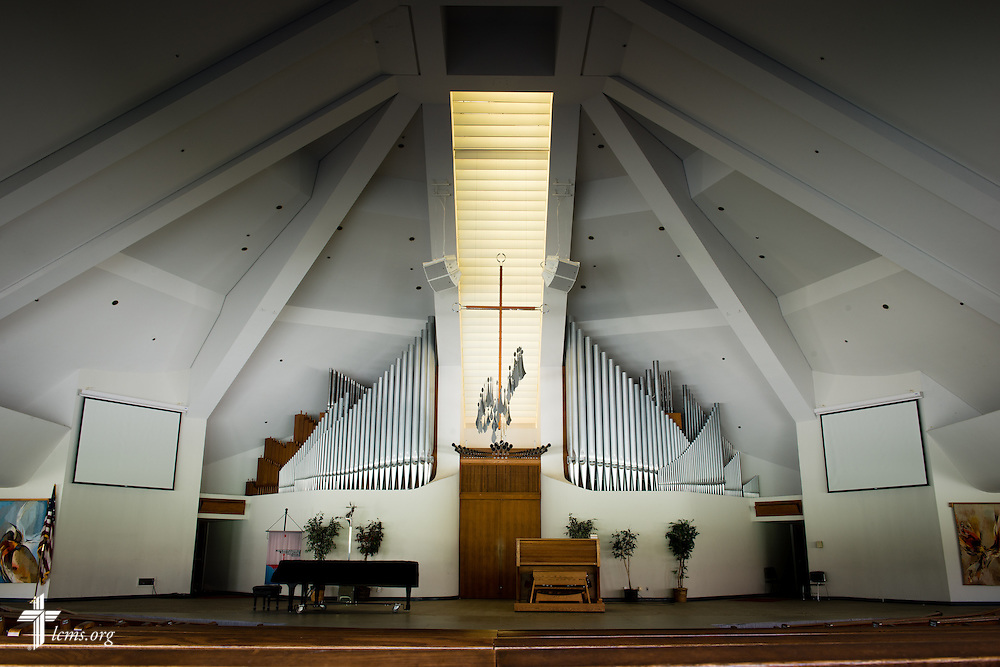 A photograph in the chapel of the CU Center at Concordia University Irvine on Wednesday, July 9, 2014, in Irvine, Calif. LCMS Communications/Erik M. Lunsford