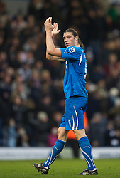 WEST BROMWICH, ENGLAND - Sunday, December 5, 2010: Newcastle United's Andrew Carroll looks dejected after his side's 3-1 defeat to West Bromwich Albion during the Premiership match at the Hawthorns. (Pic by: David Rawcliffe/Propaganda)