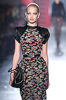 Ginta Lapina walks down runway for F2012 Jason Wu's collection in Mercedes Benz fashion week in New York on Feb 10, 2012 NYC