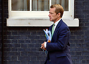© Licensed to London News Pictures. 18/09/2012. Westinster, UK David  Laws  Minister of State for Schools and the Cabinet Office. Cabinet meeting today in Downing Street 18 September 2012. Photo credit : Stephen Simpson/LNP