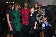 NEW YORK - DECEMBER 8:  Naomi Campbell, Gayle King, Tyson Beckford, Kylie Minogue, Foxy Brown and Lee Daniels attend an exclusive screening of the new FOX show 'Empire' at the Bryant Park Hotel on December 8, 2014 in New York City. (Photo by Ben Hider/PictureGroup)