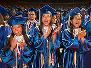 Chavez High School graduation at Reliant Arena, June 8, 2013.